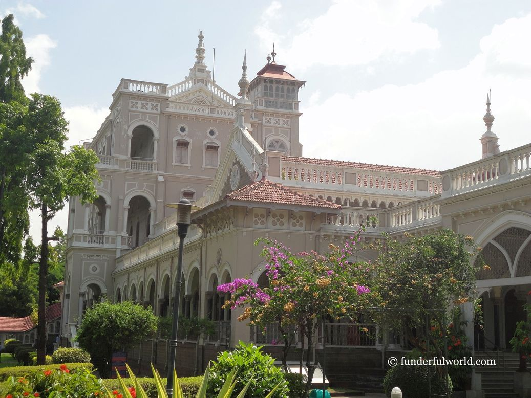 Aga Khan Palace. Pune, India.