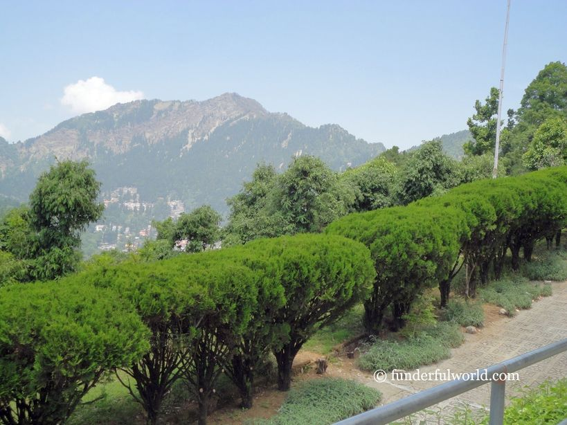 Magnificent views. From the Nainital Zoo, India
