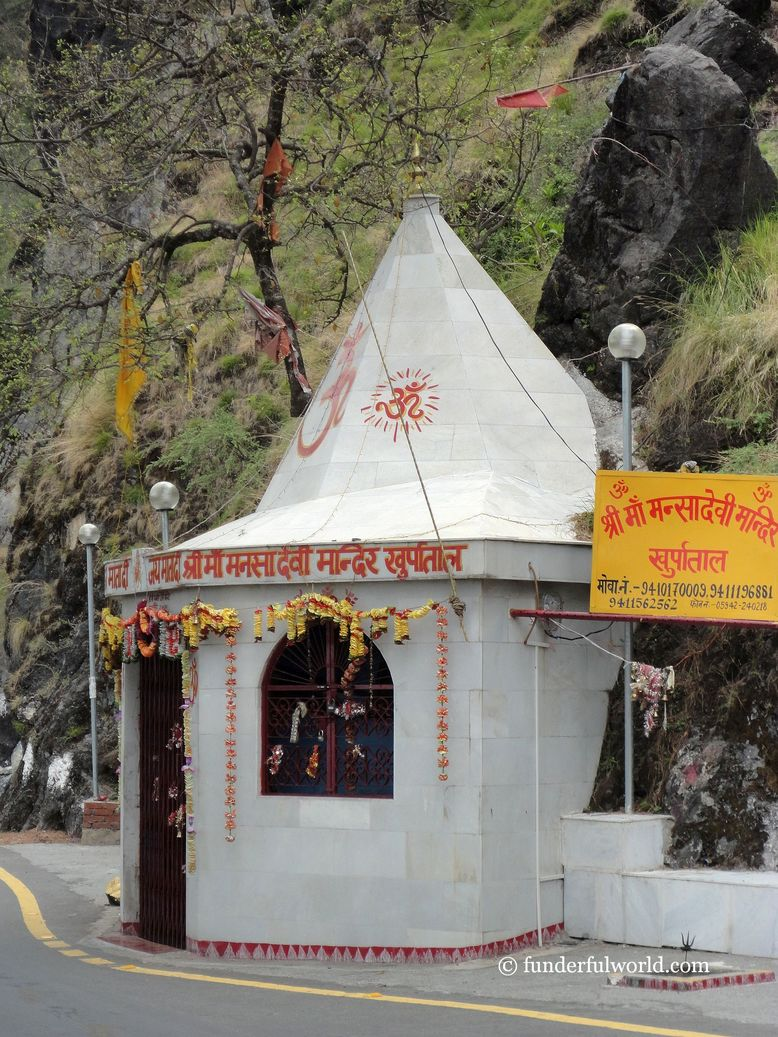 Mansa Devi temple. Khurpatal, Nainital, India.