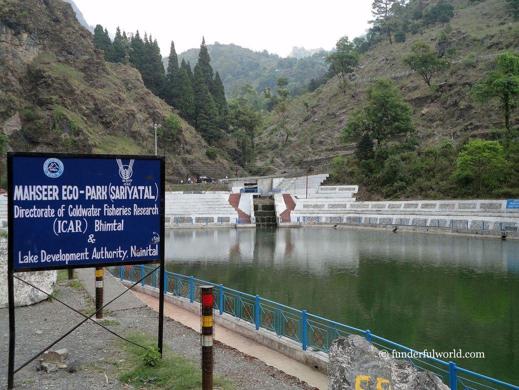 Sariya Tal. Nainital, India.