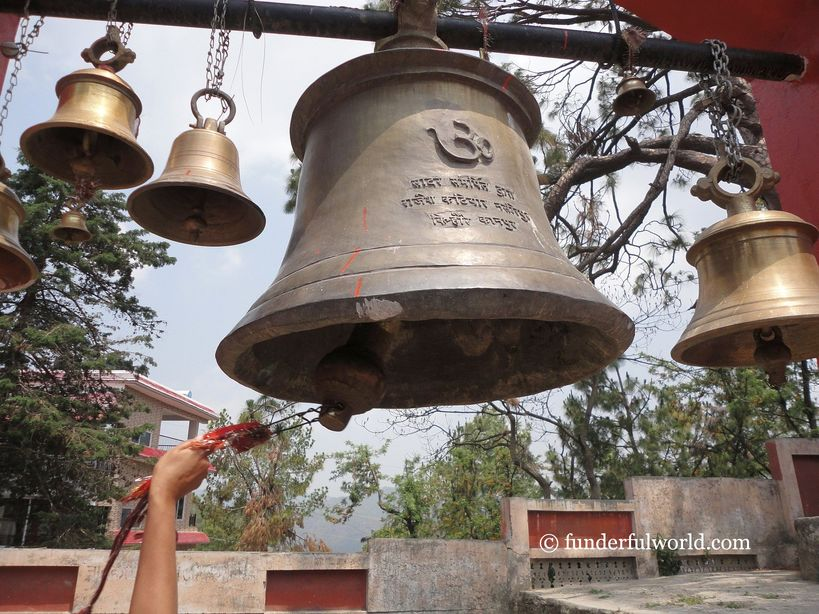 I am here. Chitai Golu Devta Temple, Almora, Uttarakhand.