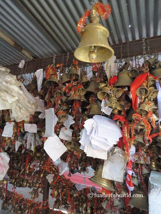 Prayers. Chitai Golu Devta Temple, Almora, Uttarakhand.
