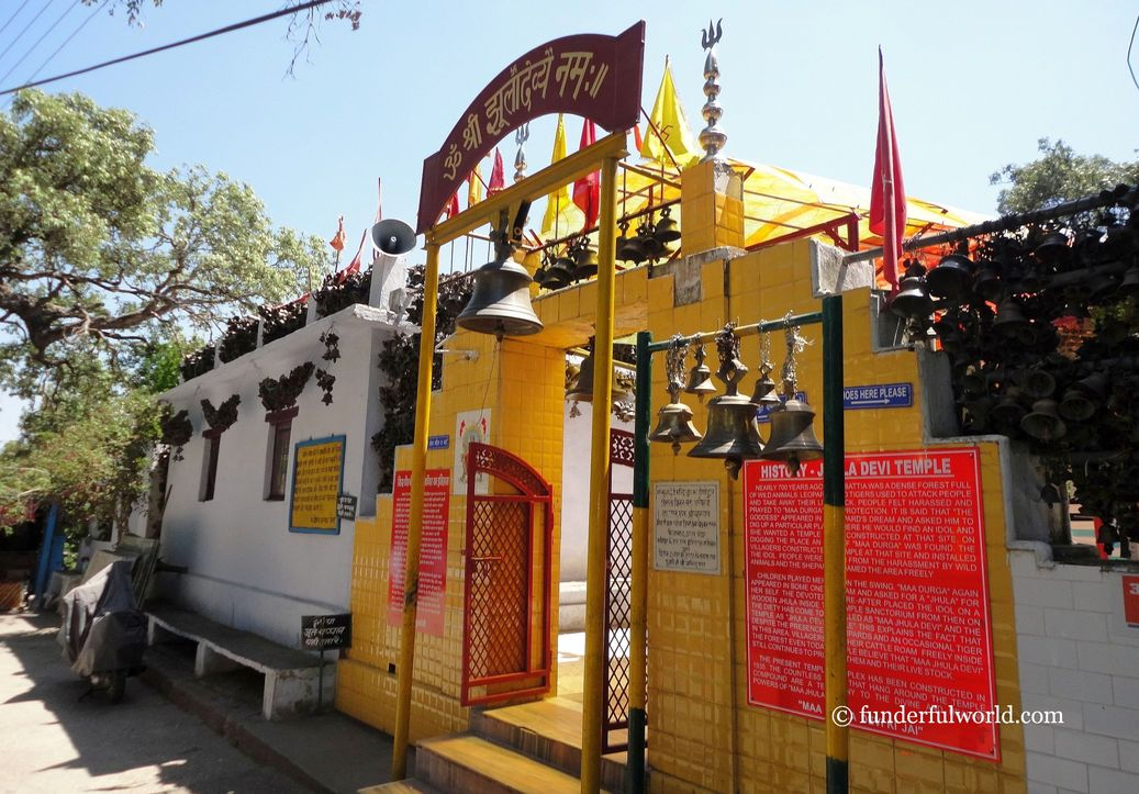 Jhula Devi Temple, Ranikhet, India.