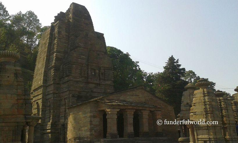 Katarmal Sun Temple, Almora, Uttarakhand.