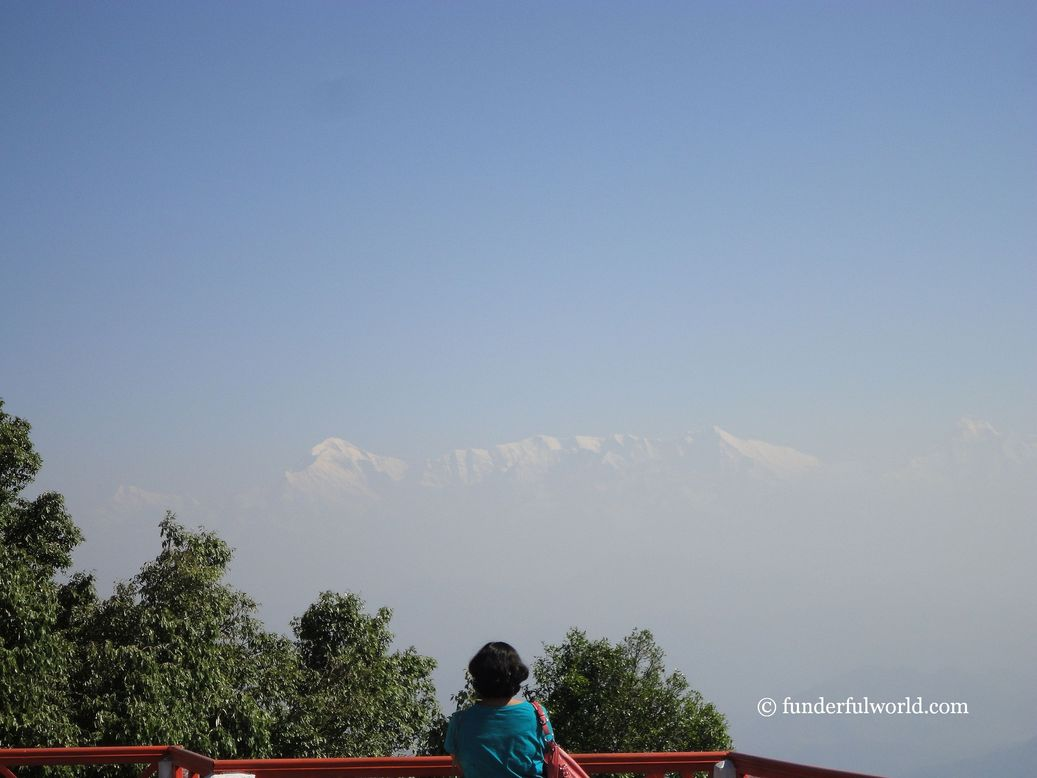 A perfect start to the day. At the terrace, KMVN Tourist Rest House, Binsar, Uttarakhand.