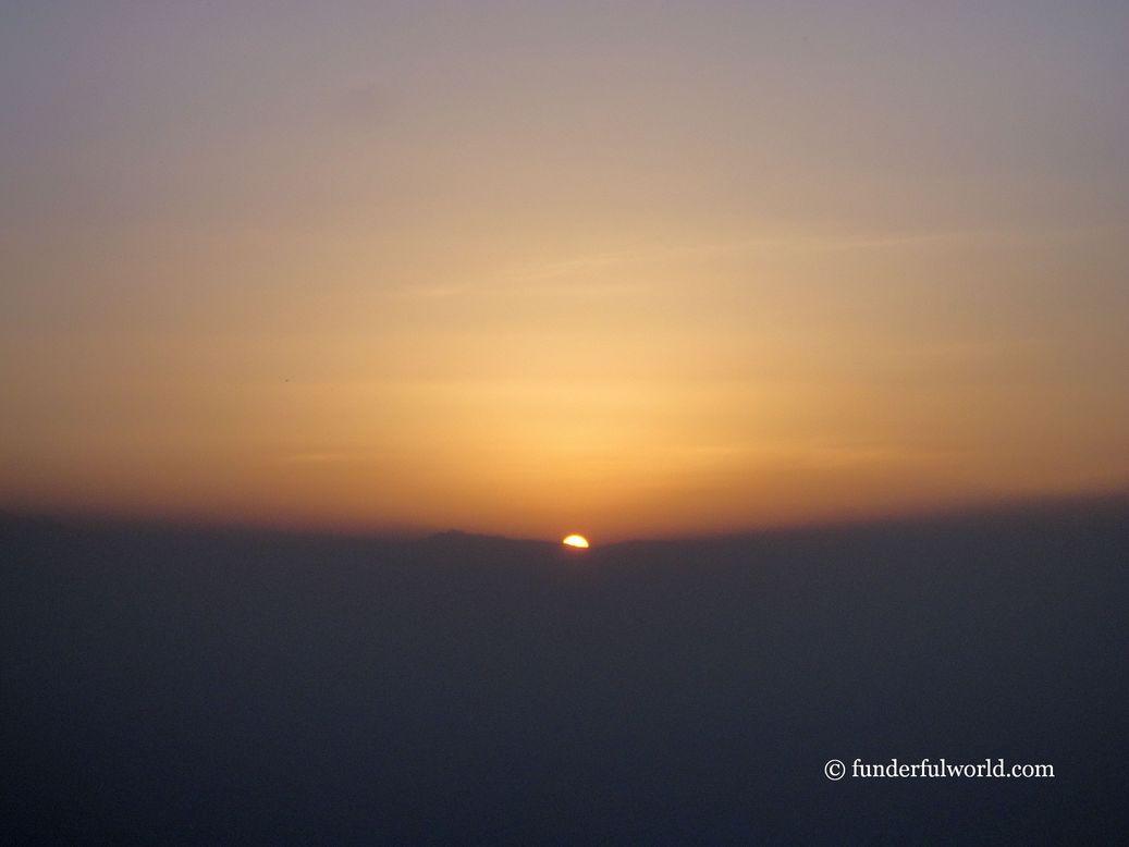 It's showtime, folks! Sunrise at Binsar Wildlife Sanctuary, Uttarakhand.