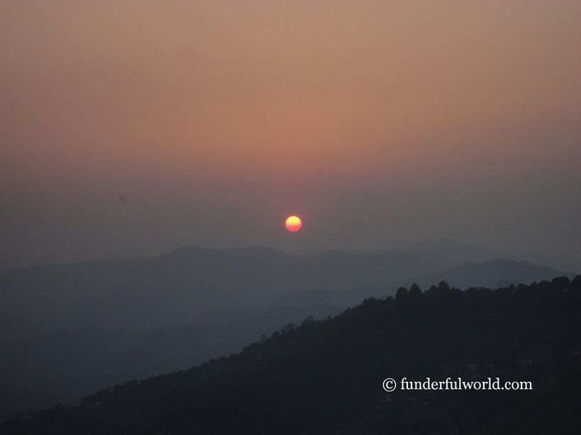 The end of a long day. Almora, Uttarakhand.