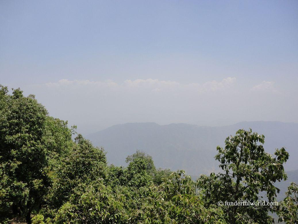 The view from Zero Point. Binsar Wildlife Sanctuary, Uttarakhand.