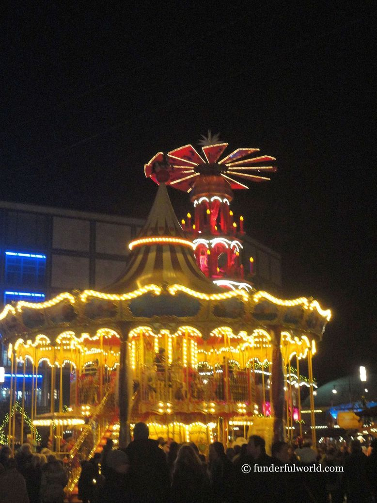 Celebrating a year that was a joyous carousel ride. Berlin, Germany.