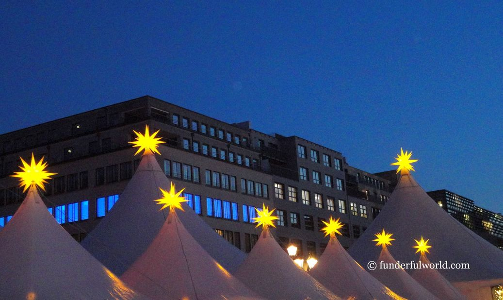 Guiding lights. Berlin, Germany.