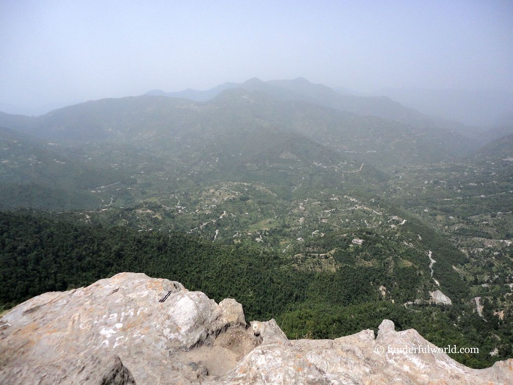 At Chauli ki Jaali. Mukteshwar, Uttarakhand, India.