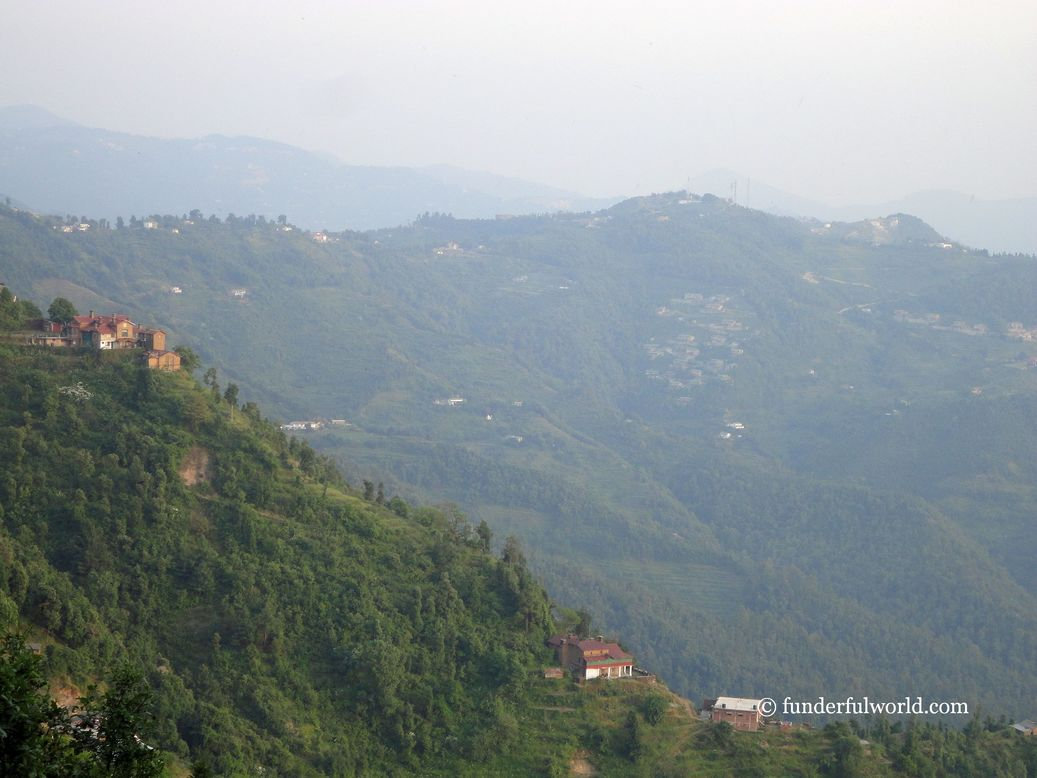 Of charming hillside towns. Mukteshwar, Uttarakhand, India.