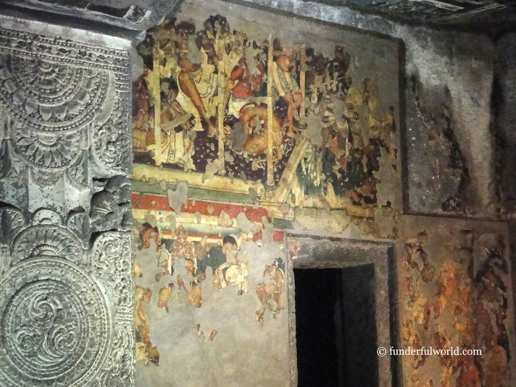 A journey back in time. Ajanta Caves, Maharashtra, India.